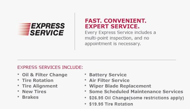 Service Specials | JP Motors Nissan