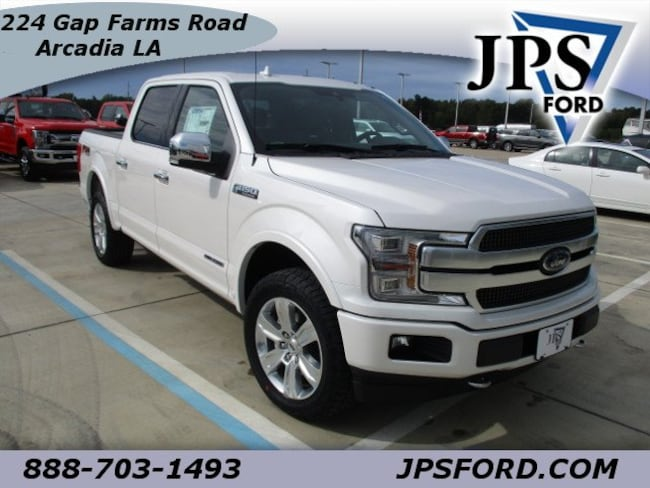 New 2018 Ford F-150 Platinum Truck for sale in Arcadia, LA