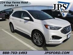 2019 Ford Edge Titanium Crossover for sale in Arcadia, LA
