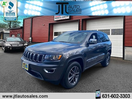Used 2017 Jeep Grand Cherokee Limited 4x4 SUV for sale in Selden, NY
