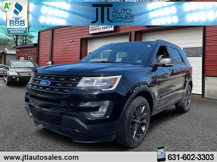 Used 2017 Ford Explorer XLT SUV for sale in Selden, NY