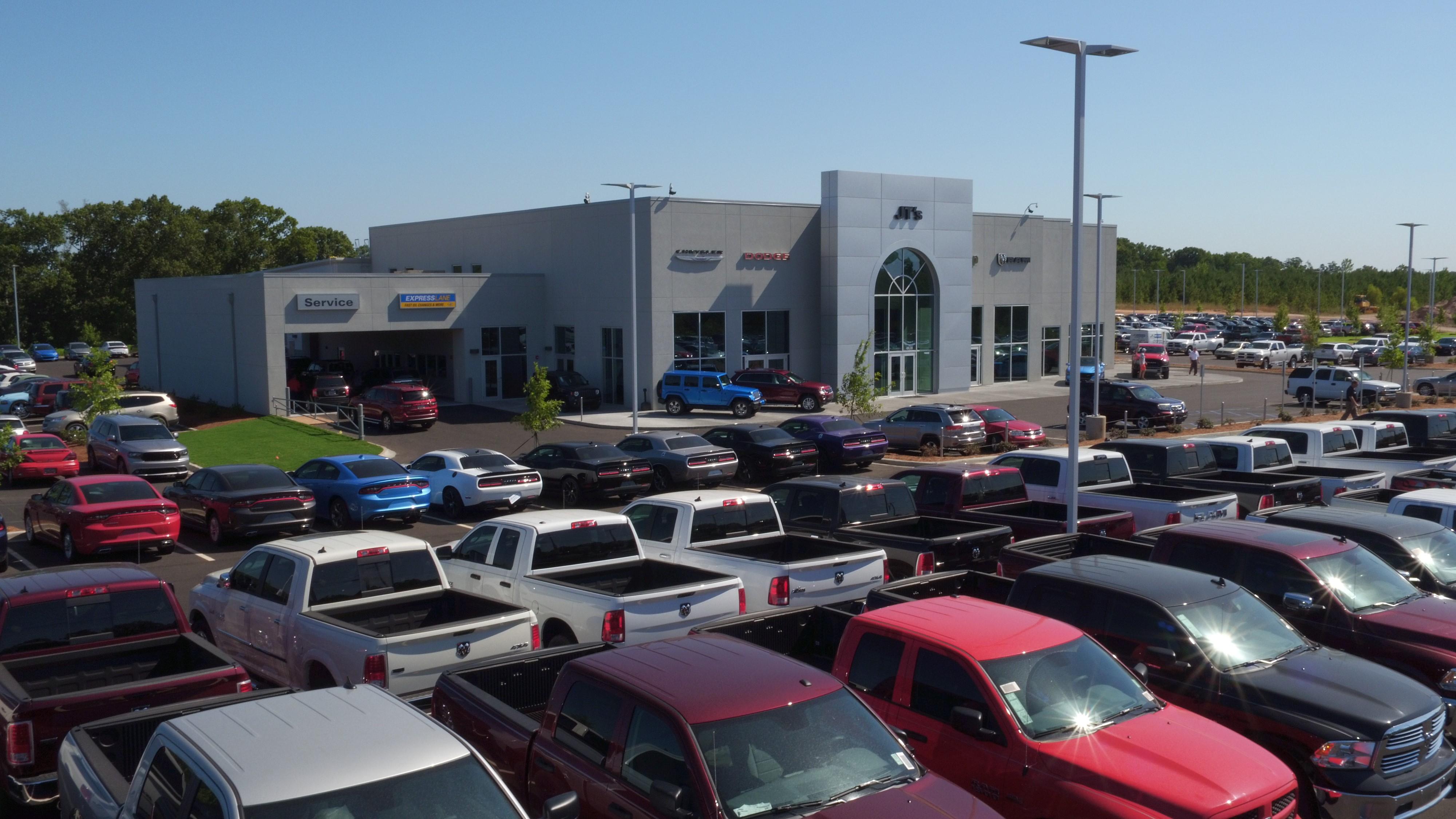 Lexington Car Dealerships: JT's Chrysler Dodge Jeep Ram FIAT
