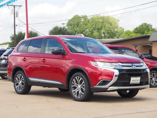 New 2018 Mitsubishi Outlander ES CUV in Waco, TX