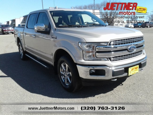 Used 2018 Ford F-150 Lariat Truck in Alexandria, MN
