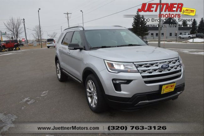 Used 2019 Ford Explorer XLT SUV in Alexandria, MN
