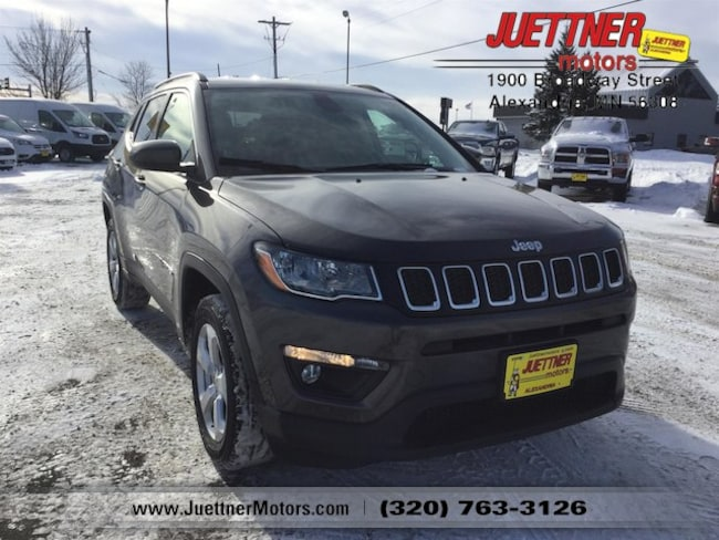 New 2019 Jeep Compass LATITUDE 4X4 Sport Utility in Alexandria, MN