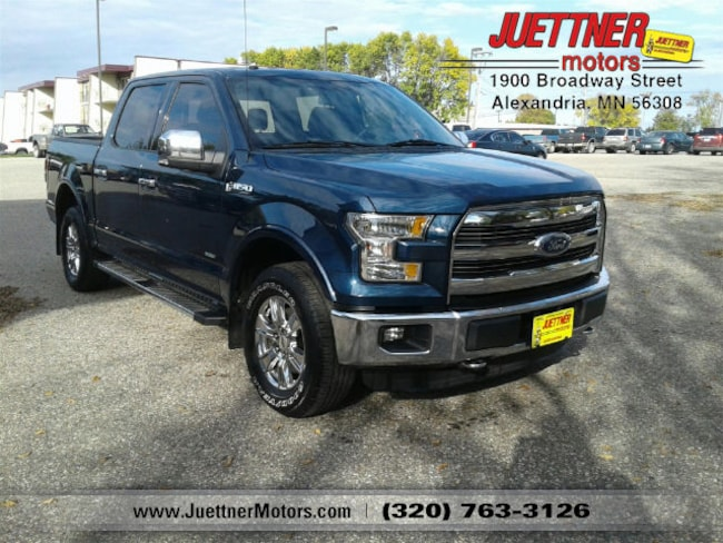 Used 2015 Ford F-150 Lariat Truck in Alexandria, MN