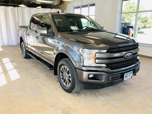 Used 2019 Ford F-150 Lariat with VIN 1FTEW1E4XKKC34367 for sale in Alexandria, Minnesota