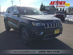 New 2019 Jeep Grand Cherokee LIMITED 4X4 Sport Utility For sale in Alexandria MN, near Morris