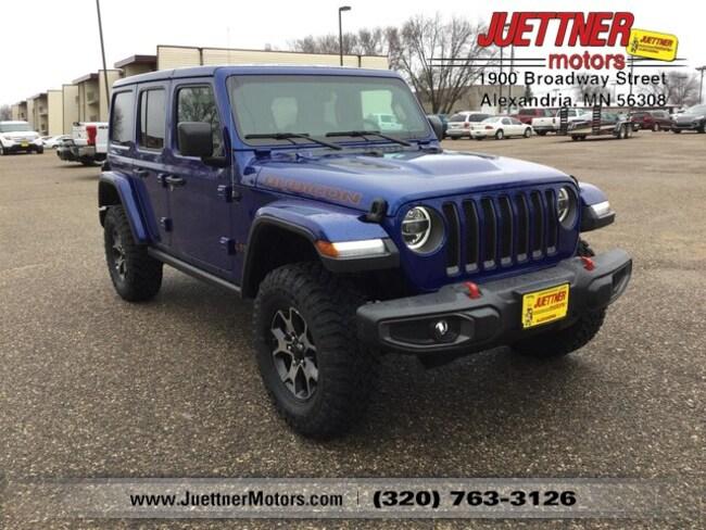 New 2019 Jeep Wrangler UNLIMITED RUBICON 4X4 Sport Utility in Alexandria, MN