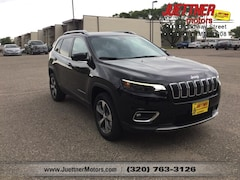 New 2019 Jeep Cherokee LIMITED 4X4 Sport Utility for sale in Alexandria MN