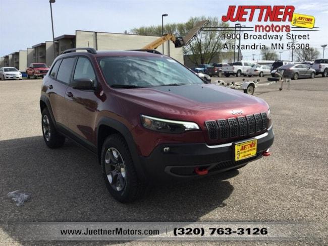 New 2019 Jeep Cherokee TRAILHAWK 4X4 Sport Utility in Alexandria, MN