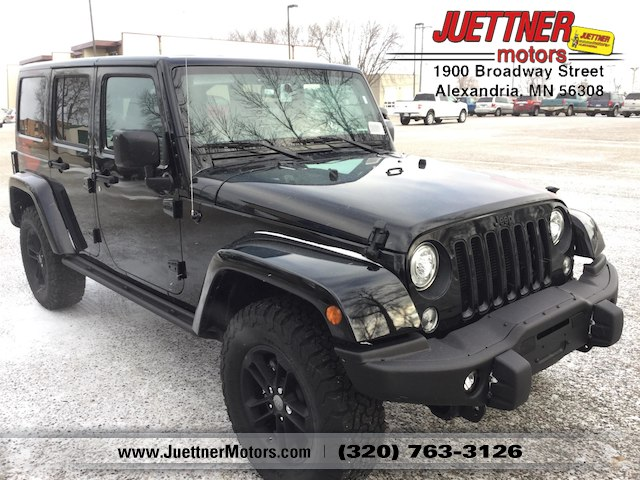 2017 Jeep Wrangler JK UNLIMITED WINTER 4X4 Sport Utility