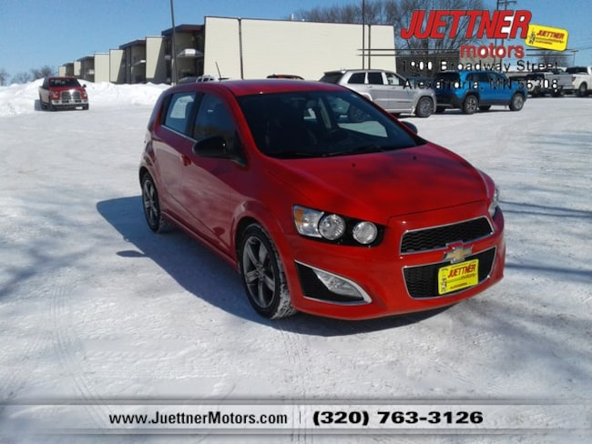 Used 2016 Chevrolet Sonic RS Auto Hatchback in Alexandria, MN