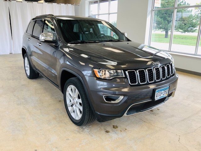Used 2017 Jeep Grand Cherokee Limited with VIN 1C4RJFBG9HC962602 for sale in Alexandria, Minnesota