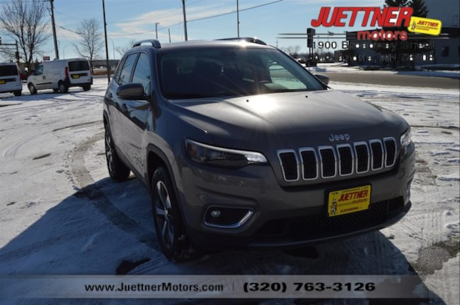 New 2019 Jeep Cherokee LIMITED 4X4 Sport Utility in Alexandria, MN