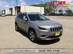 New 2019 Jeep Cherokee LIMITED 4X4 Sport Utility For sale in Alexandria MN, near Morris