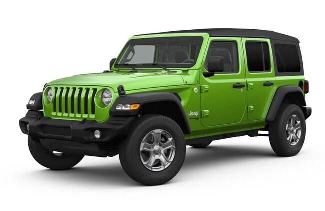 New 2019 Jeep Wrangler UNLIMITED SPORT S 4X4 Sport Utility in Alexandria, MN