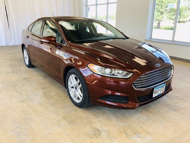Used 2015 Ford Fusion SE with VIN 3FA6P0HD7FR114511 for sale in Alexandria, Minnesota