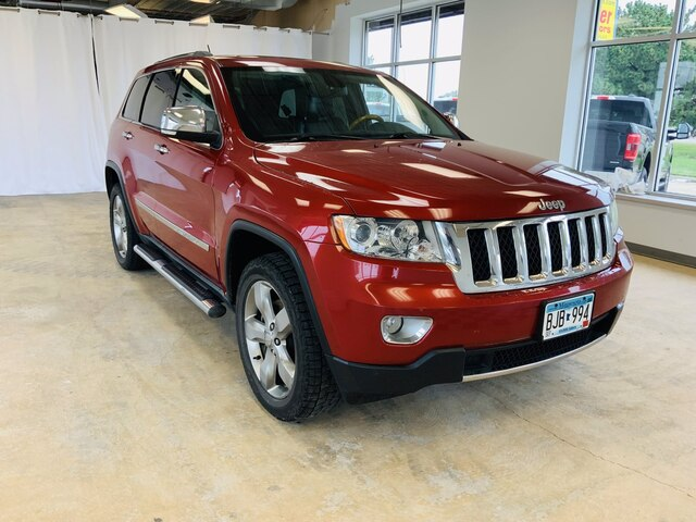 Used 2011 Jeep Grand Cherokee Overland with VIN 1J4RR6GT2BC696355 for sale in Alexandria, Minnesota
