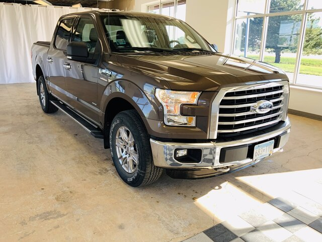 Used 2015 Ford F-150 XLT with VIN 1FTEW1EG9FKD80923 for sale in Alexandria, Minnesota
