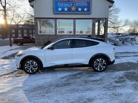 Featured New 2021 Ford Mustang Mach-E Mach E SUV for Sale in Alexandria, MN