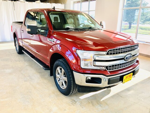 Used 2019 Ford F-150 Lariat with VIN 1FTFW1E42KFC26471 for sale in Alexandria, Minnesota