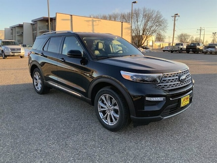 Featured New 2021 Ford Explorer Limited SUV for Sale in Alexandria, MN