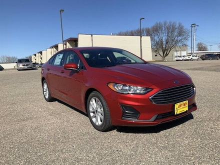 Featured New 2020 Ford Fusion SE Sedan for Sale in Alexandria, MN