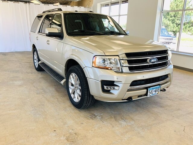 Used 2017 Ford Expedition Limited with VIN 1FMJU2AT5HEA24012 for sale in Alexandria, Minnesota