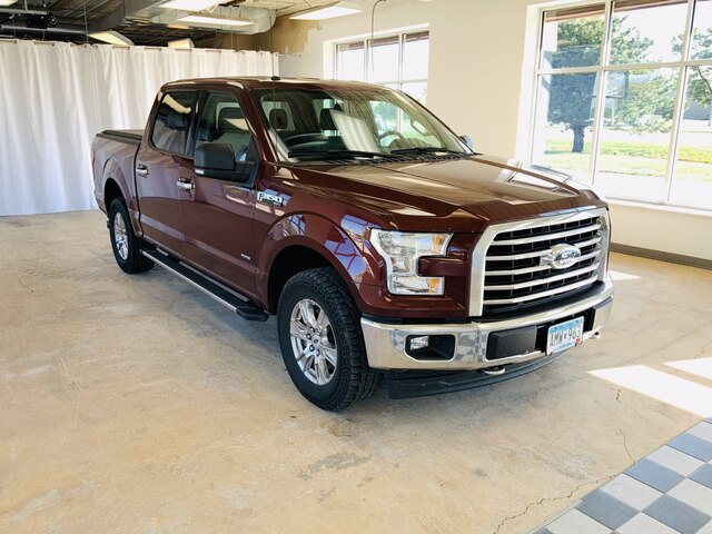 Used 2017 Ford F-150 XLT with VIN 1FTEW1EP1HKD09251 for sale in Alexandria, Minnesota