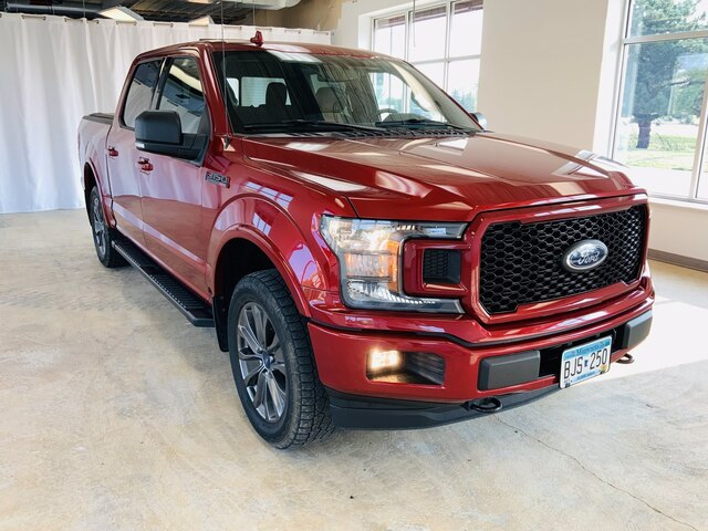 Used 2018 Ford F-150 XLT with VIN 1FTEW1EP0JFD39288 for sale in Alexandria, Minnesota