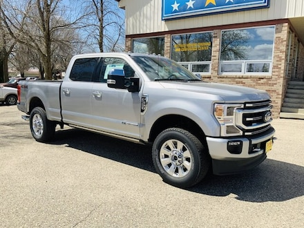 Featured New 2021 Ford Super Duty F-350 SRW Platinum Truck for Sale in Alexandria, MN