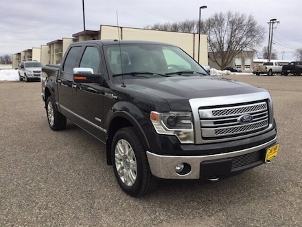 Featured Used 2013 Ford F-150 Platinum Truck for Sale near Fergus Falls, MN