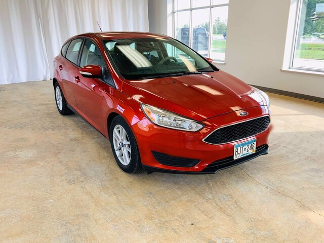 Used 2018 Ford Focus SE with VIN 1FADP3K21JL241004 for sale in Alexandria, Minnesota