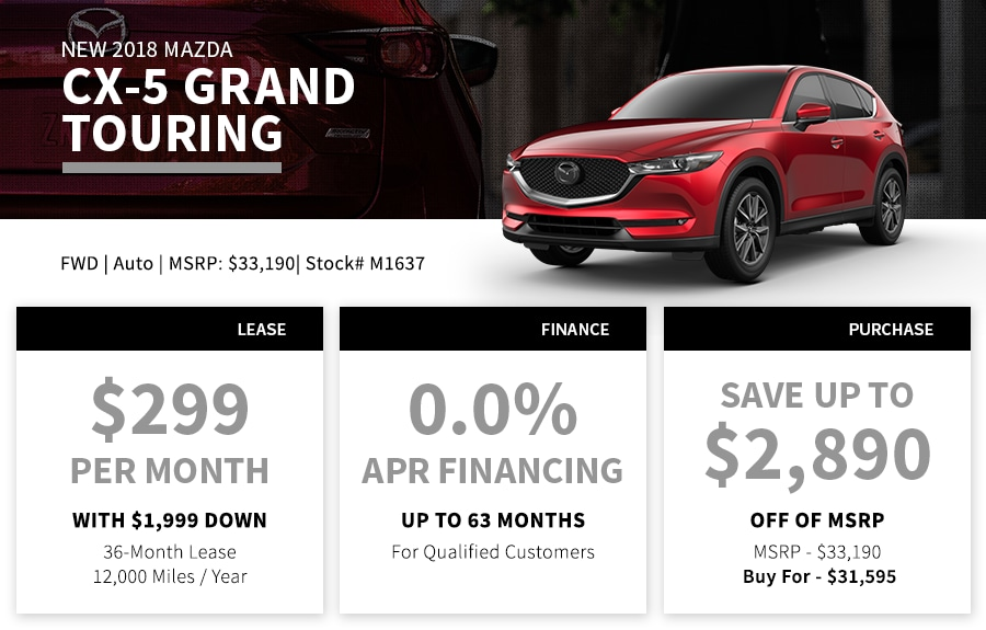 CX-5 Special Offer