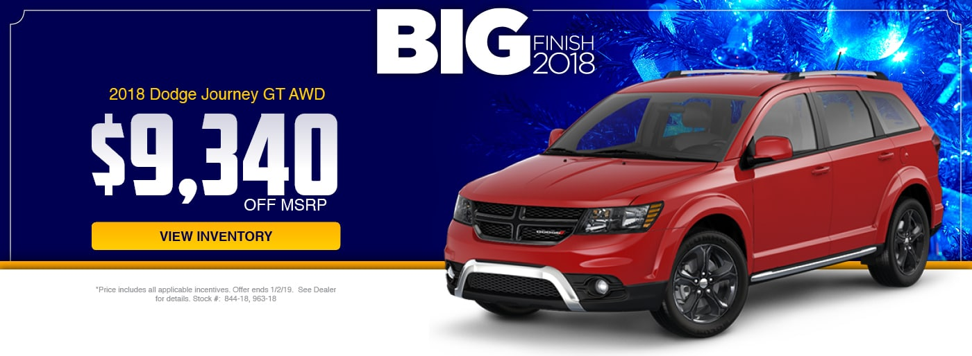 22018 Dodge Journey GT AWD Special at Junction Dodge in Chardon, OH