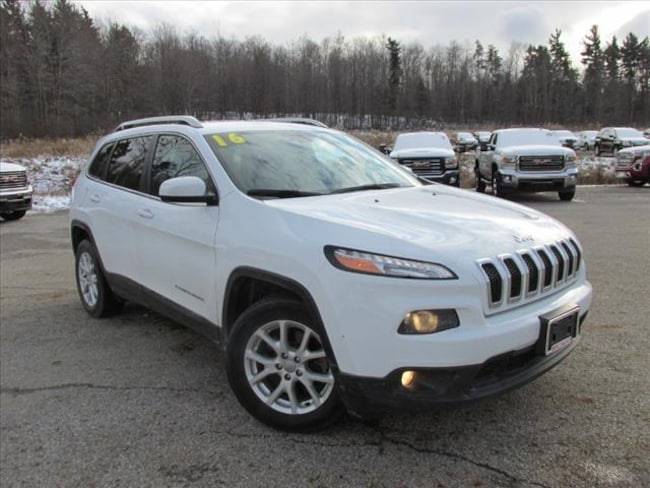 used 2016 jeep cherokee latitude for sale cleveland willoughby chardon oh vin. Black Bedroom Furniture Sets. Home Design Ideas