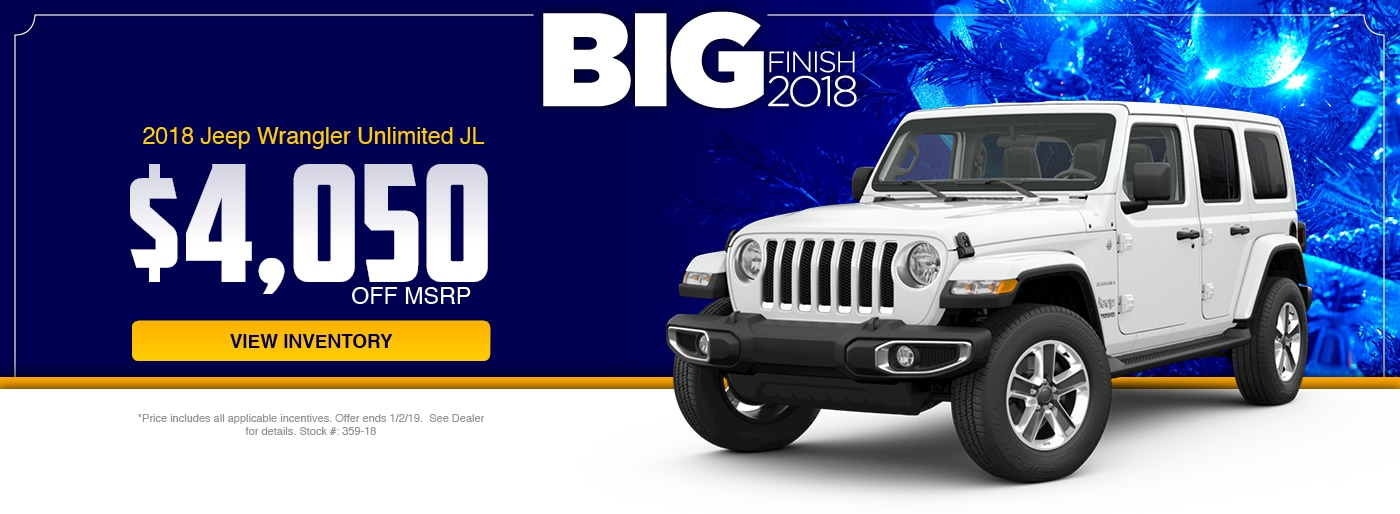 2018 Jeep Wrangler Unliited JL Special at Junction Jeep in Chardon, OH