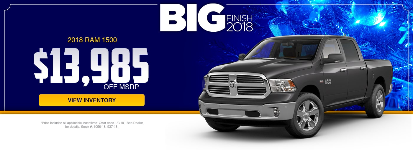 2018 RAM 1500 Special at Junction RAM in Chardon, OH
