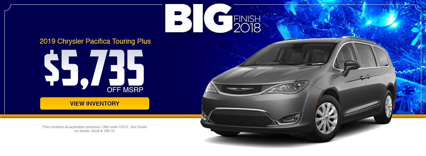2018 Chrysler Paifica Touring Plus Special at Junction Chrysler in Chardon, OH