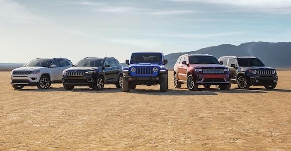 New Jeeps In Hiawatha