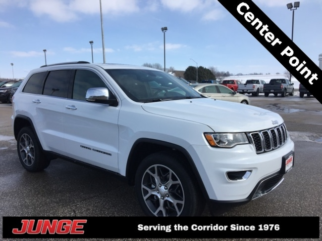 New 2019 Jeep Grand Cherokee LIMITED 4X4 Sport Utility in Center Point, IA