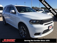 New 2019 Dodge Durango GT PLUS AWD Sport Utility 1C4RDJDG9KC536312 in Center Point, IA