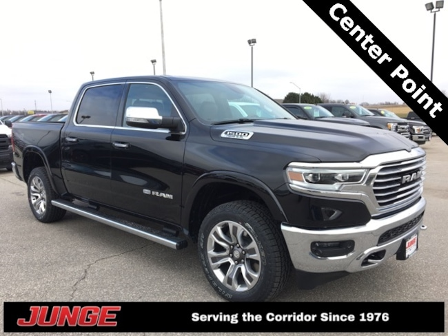 New 2019 Ram 1500 LARAMIE LONGHORN CREW CAB 4X4 5'7 BOX Crew Cab in Center Point, IA