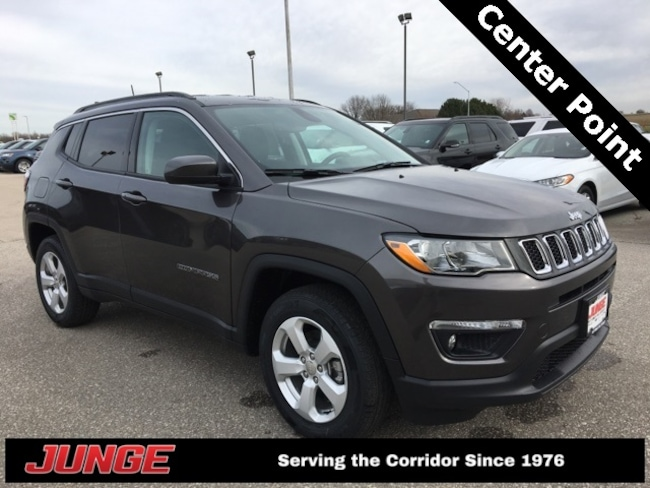 New 2019 Jeep Compass LATITUDE 4X4 Sport Utility in Center Point, IA