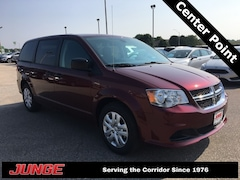 New 2019 Dodge Grand Caravan SE Passenger Van 2C4RDGBG9KR503937 in Center Point, IA
