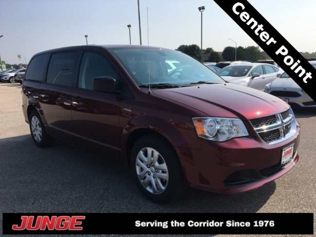 New 2019 Dodge Grand Caravan SE Passenger Van in Center Point, IA