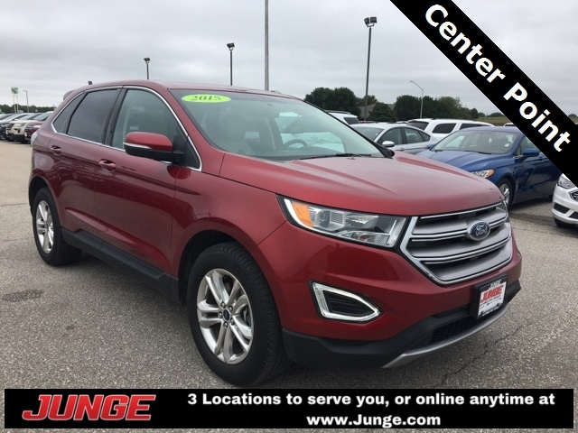 Used  Ford Edge Sel Suv For Sale In Center Point Ia