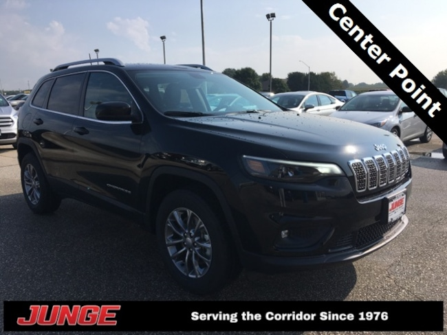 New 2019 Jeep Cherokee LATITUDE PLUS 4X4 Sport Utility in Center Point, IA